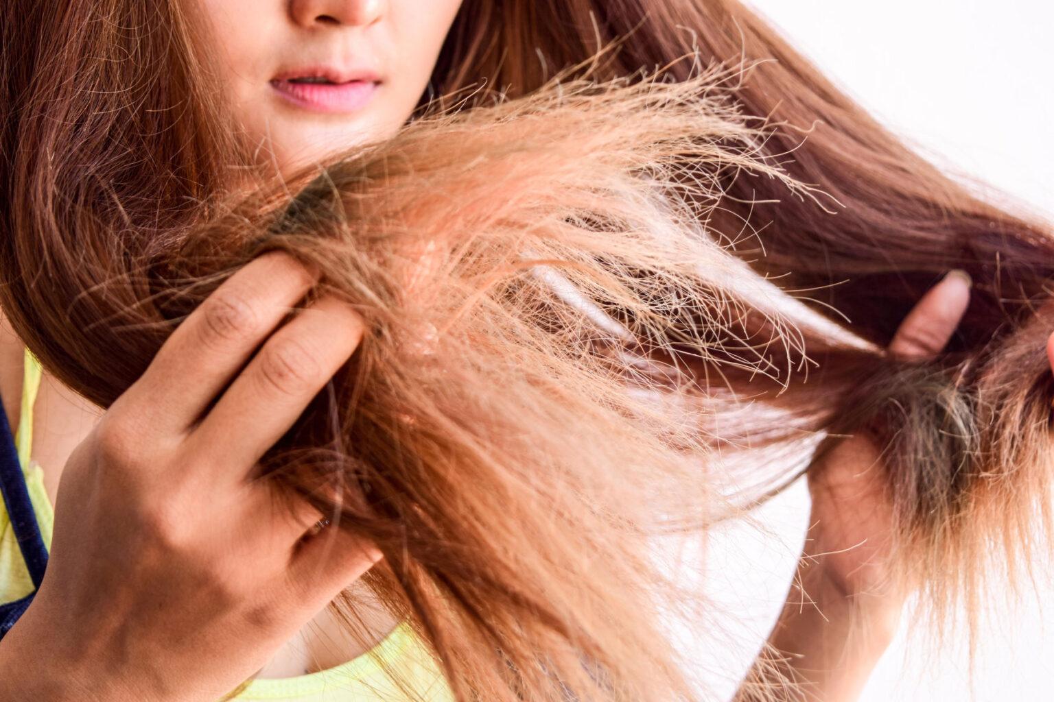 """""""Strohige, trockene oder """"strubbelige Haare - was tun"""